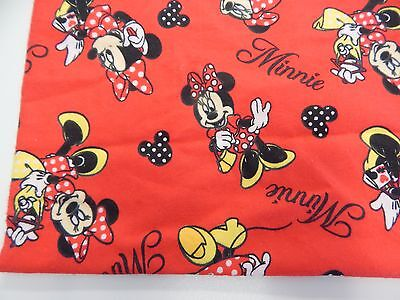 Minnie Mouse Red Flannelette Baby Wrap Swaddle Blanket -100% Cotton