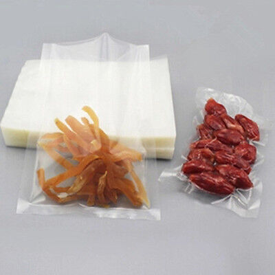 1 - 400x Open Top Vacuum Heat Seal Pouch Plastic Food Storage Packaging Bag Poly