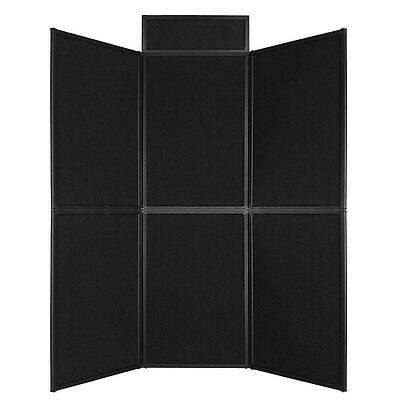 6 Set Panel Exhibition Folding Display Boards Top Stand Header Aluminum Frame