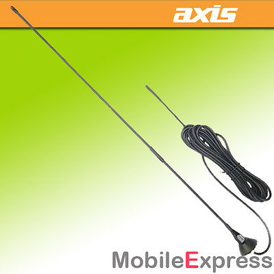ALL NEW Axis M477-K 477Mhz 4.5Db Black FibreGlass Whip UHF CB Radio Antenna