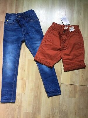 Next Boys Small Bundle Age 5 Years Shorts Brand New With Tags & Jeans