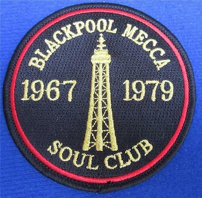 Northern Soul Patch - Blackpool Mecca Soul Club - 1967 - 1979