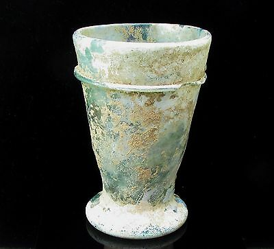 Roman Glass Ancient Goblet G537