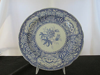 "Spode Blue Room Collection ""Floral""  Dinner Plate - Made in England."