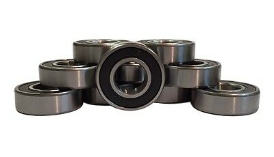 6302-2RS Sealed Radial Ball Bearing 15X42X13 (10 pack)
