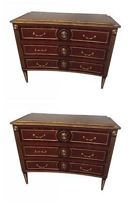 Pair Of Neo-classical Style Bronze Mounted Commodes 101- 316