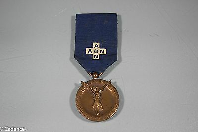 WW1 Belgium National Assistance Medal. Named W/ Serial Number.