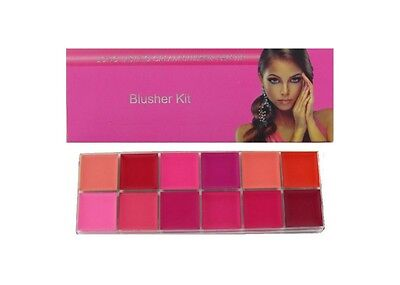 Saffron's Long Lasting Cream Blusher Palette Blusher Kit
