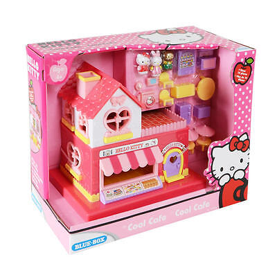 Hello Kitty Cool Cafe 15 Pieces Play Set For Girls