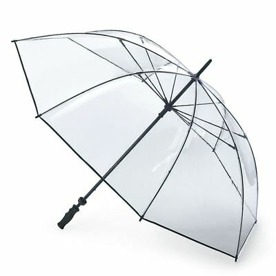 Fulton Unisex Clearview Extra Large Canopy Golf Umbrella Clear