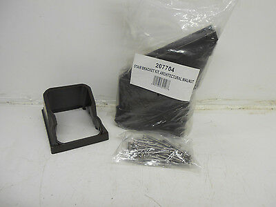 207704 Stair Angle Bracket Kit Architectural Walnut (Bag Of 4) ***nib***