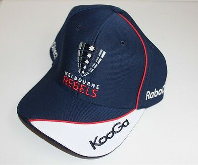 Melbourne Rebels Rugby Union Baseball Cap Hat Brand New Unisex One Size Fits All