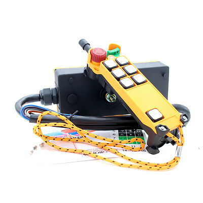 HS-6S Crane Industrial Remote Control Wireless Transmitter Push Button Switch