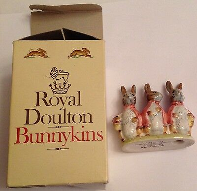 Royal Doulton Beatrix Potter's Flopsy Mopsy and Cottontail Beswick England