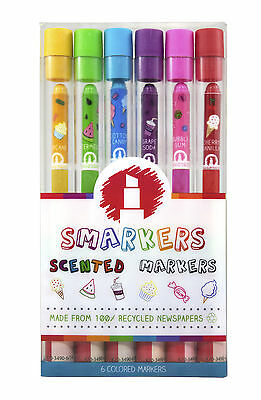 Scentco Gourmet Scented Markers 6 pack (Smarkers)