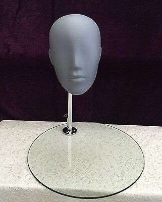 Fiberglass Male Mannequin Egg Head Without Stand Display # XRM-126