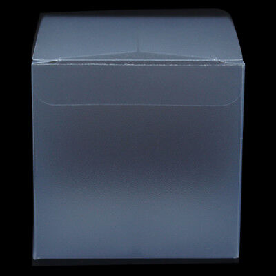 Sqaure PVC Plastic Matte Clear Box Transparent Wedding Gift Candy Packaging Box