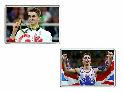 Max Whitlock Olympics Rio 2016 Fridge Magnet Chose from 2 Images FREE POSTAGE