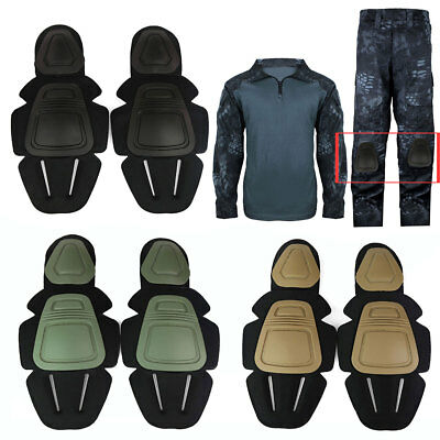Military Airsoft Tactical Ourdoor Combat Protective Knee and Elbow Pad Skate Set