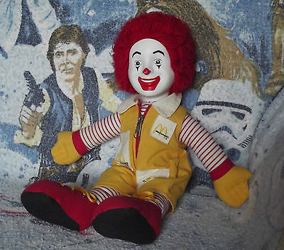 Vintage 1984 Ronald McDonald Stuffed Doll