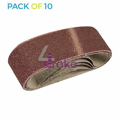 Set of 5 Pieces Red 8 x 456 mm Sealey SBS35//B60GN 60Grit 8 x 456mm Sanding Belt-Pack of 5