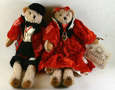 Valentines Day Bear Dolls Teddy Tompkins Collection