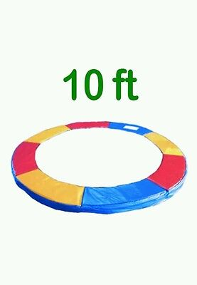 /* Greenbay 10 FT Replacement Trampoline Pad Spring Cover Tri-Colour Padding New