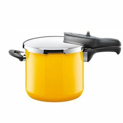 Silit - Energy Yellow Sicomatic t-plus Pressure Cooker 6.5Ltr (Made in Germany)
