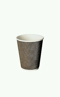 8oz Signature VIP  Hot Cups (x500) Double Wall, Takeaway Drink Cups