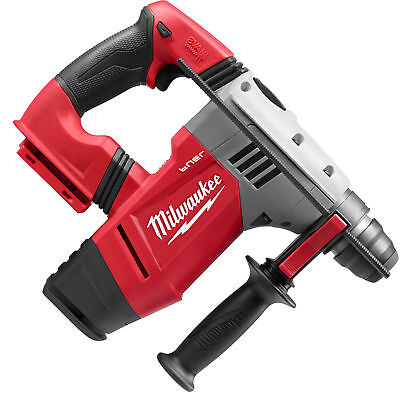"M28 Fuel 1-1/8"" SDS Plus Rotary Hammer (Tool Only) Milwaukee 0757-20 New"
