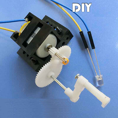 NEW Hand-cranked generator Experiment Toys Fun science DIY Technology Hot