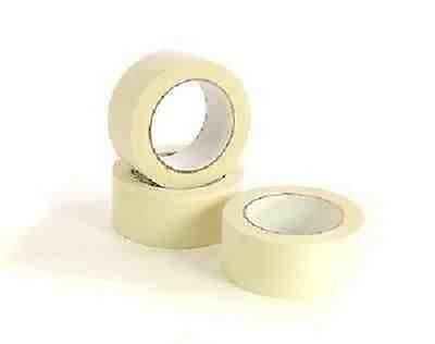 """NEW 2""""X 12 ROLL General purpose Quality masking tape of size 50MM X 50M"""