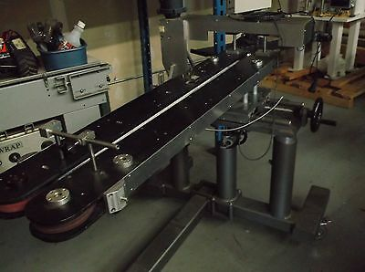 CTM Hugger Belt System for Lableling or product conveyor transfer applications