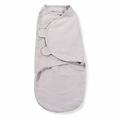 Summer Infants SwaddleMe Original Swaddle 1 Pack, Grey, Small