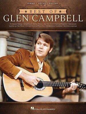 Best of Glen Campbell Sheet Music Piano Vocal Guitar SongBook NEW 000174833
