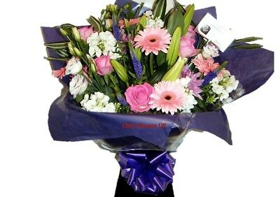 Fresh Flowers Delivered Stunning Selection Florist Choice Bouquet