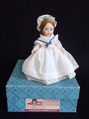 Hard Plastic Madame Alexander BETSY ROSS Miniature Series #431 MIB