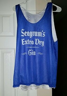 Seagram's Extra Dry Gin - Basketball Jersey #1 - Georgia - Blue & White