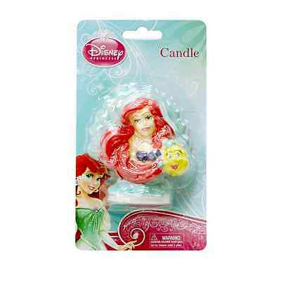 Ariel Mermaid 3D Birthday Candle - Cake Decoration