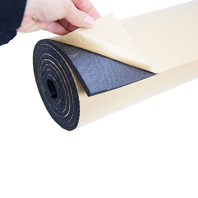 2Roll 10mm Car Sound Proofing Deadening Vehicle Insulation Closed Cell Foam