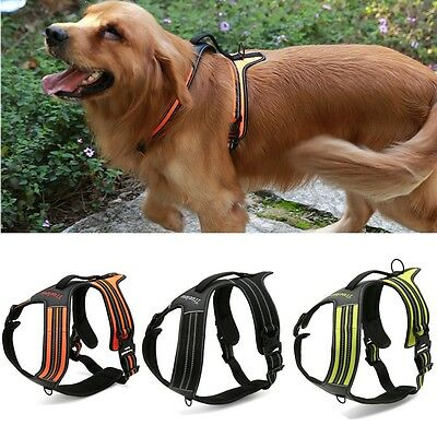 Pet Dog Harness Adjustable Padded Reflective Breathable Escape Proof Truelove