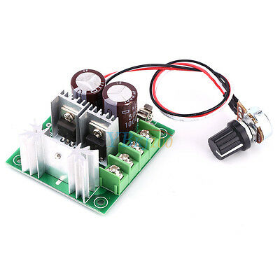 CCMHCW DC 12V ~40V 400W 10A Adjustable DC Motor Speed Controller PWM Controller
