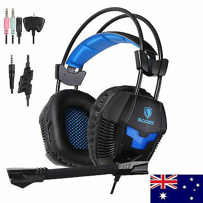 Sades SA921 Gaming Headset Noise Cancellation w/mic for XBOX 360 XBOX ONE PC PS4