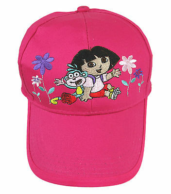 Brand New Dora The Explorer Baseball Cap - Hat ( kid size )