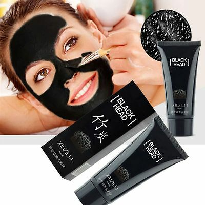 Deep Cleansing Charcoal Blackhead Remover Peel Off Black Mask Cosmatic Lady