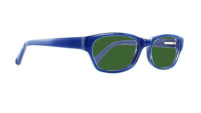 BoroView Shade #5 - Glass Working Spectacles in Geek Unisex Plastic Frame -