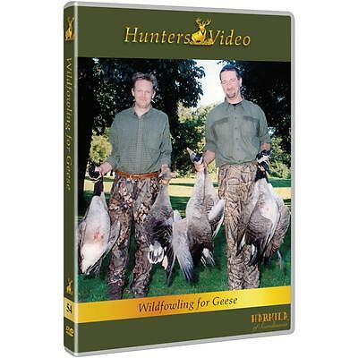 Hunters Video DVD Wildfowling for Geese