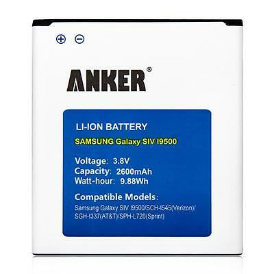 Galaxy S4 Battery, Anker 2600mAh Replacement Battery for Samsung Galaxy S4
