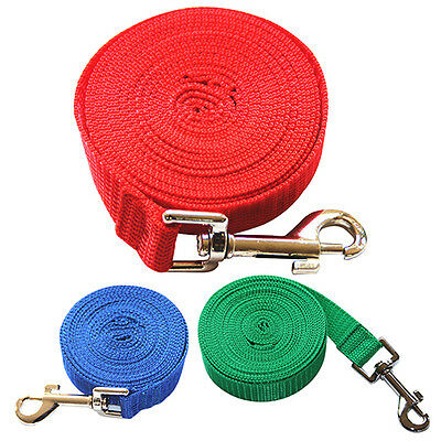 3-20M Pets Long Clip Training Leash Rope Leads Belt Dogs Safety Harness Distinct