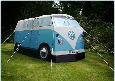 Tente Camping-car 1967 VW Volkswagen - 4 Places - Bleue NEUF